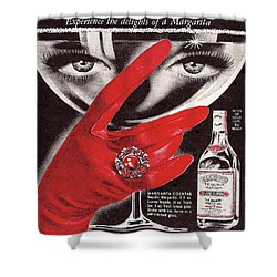 Jose Cuervo Tequila Experience The Delights Of A Margarita Shower Curtain