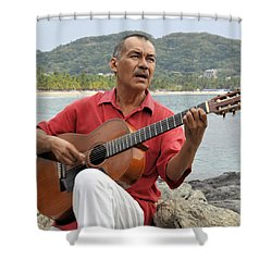 Jose Luis Cobo Shower Curtain by Jim Walls PhotoArtist
