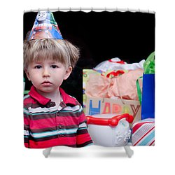 Joseph 3  Shower Curtain