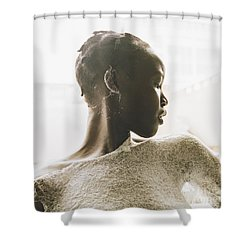 Shower Curtain featuring the photograph Josephine by Rebecca Harman