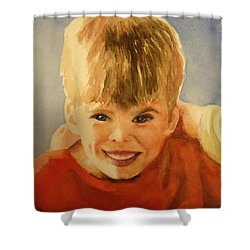 Joshua Shower Curtain by Marilyn Jacobson
