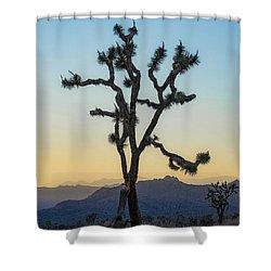 Joshua Tree Shower Curtain