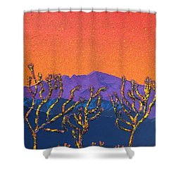 Joshua Trees Shower Curtain