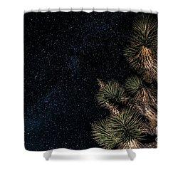 Joshua's Stars Shower Curtain