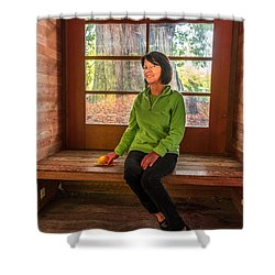 Josie Shower Curtain by Jerry Cahill