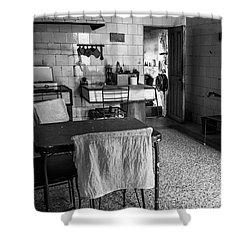 Shower Curtain featuring the photograph Josie's Kitchen Havana Cuba by Joan Carroll