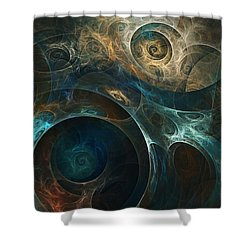 Journey Shower Curtain by David Lane