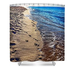 Shower Curtain featuring the photograph Journey by Kendall McKernon