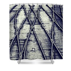 Journey Marks Shower Curtain