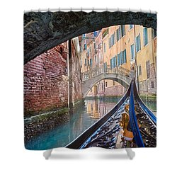 Journey Through Dreams Shower Curtain