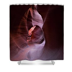 Journey Thru The Shadows Shower Curtain