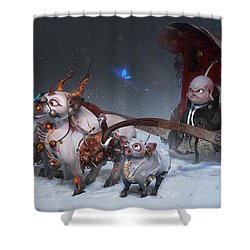 Journey To The West Shower Curtain