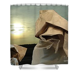 Journey Within Shower Curtain