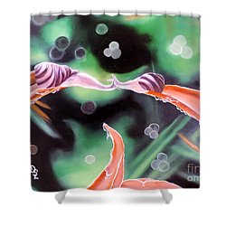 Journey's End Shower Curtain by Dianna Lewis