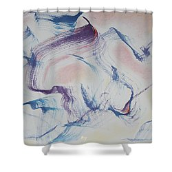 Journeys Of The Heart Shower Curtain
