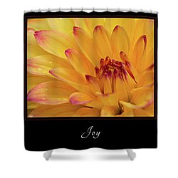 Shower Curtain featuring the photograph Joy 1 by Mary Jo Allen
