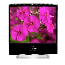 Shower Curtain featuring the photograph Joy 2 by Mary Jo Allen