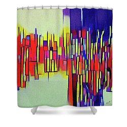 Joy #3 Shower Curtain