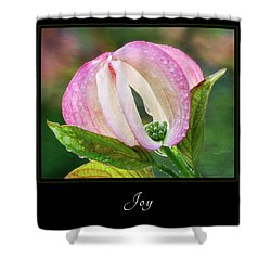 Shower Curtain featuring the photograph Joy 3 by Mary Jo Allen