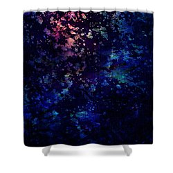 Joy Comes In The Morning Shower Curtain by Rachel Christine Nowicki