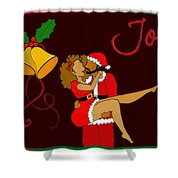 Joy Shower Curtain by Diamin Nicole