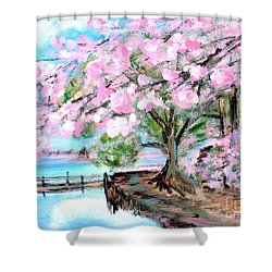Joy Of Spring. For Sale Art Prints And Cards Shower Curtain