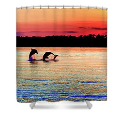 Joy Of The Dance Shower Curtain