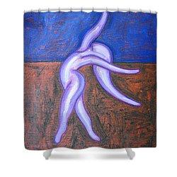 JOY Shower Curtain by Patrick J Murphy