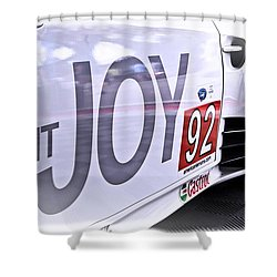 Joy Toy Shower Curtain by Scott Wyatt