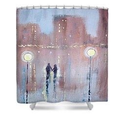 Joyful Bliss Shower Curtain by Raymond Doward