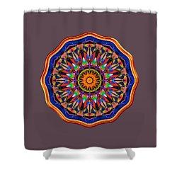 Joyful Riot Shower Curtain