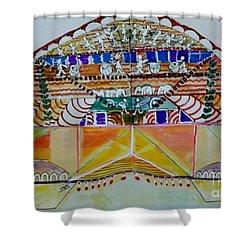 Joyous Entry Shower Curtain