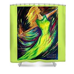 Joy's Dance Shower Curtain