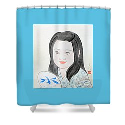Jozen Mizu No Gotoshi Shower Curtain