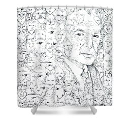 Juan Rulfo Sombra De Arreguin Shower Curtain