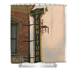Juan's Furniture Store Shower Curtain