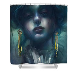 Judith V1 Shower Curtain