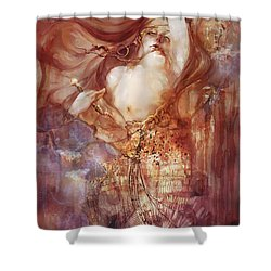 Judith V2 Shower Curtain