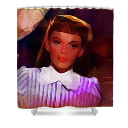 Judy Garland Shower Curtain by Ted Azriel