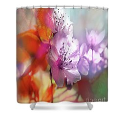 Juego Floral Shower Curtain by Alfonso Garcia
