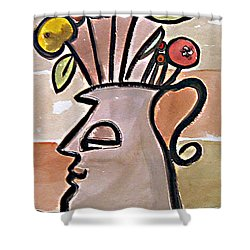 Jug Face Shower Curtain