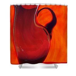 jug Shower Curtain