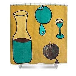 Juice Shower Curtain by Patrick J Murphy