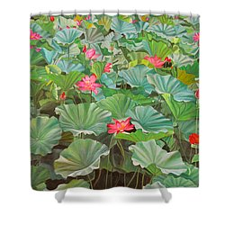 July 4th Shower Curtain