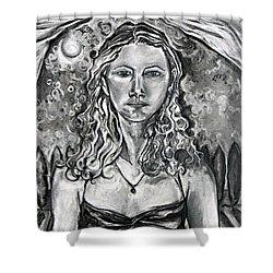 Resolute - Self Portrait Shower Curtain