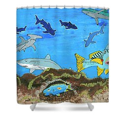 July 2017 Shower Curtain