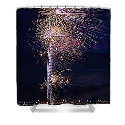 July 4th 2015 #1 Shower Curtain