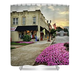 July 4th In Murphy North Carolina Shower Curtain by Greg Mimbs