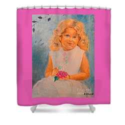 July - 50x69 Cm Shower Curtain