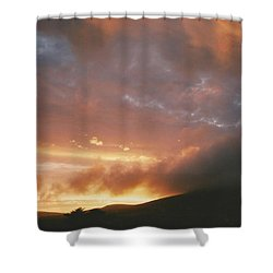 July Sunset Shower Curtain
